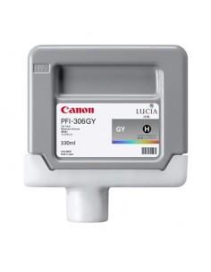 Gris 330 ml. Tinta Canon PFI306GY