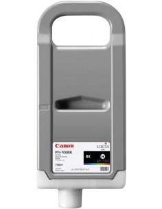 Negro Brillo 700 ml. Tinta Canon PFI706BK