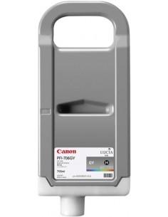 Gris 700 ml. Tinta Canon PFI706GY