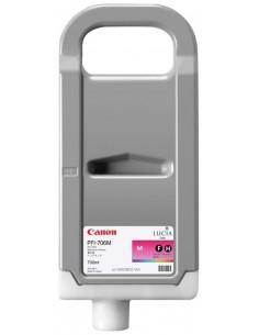 Magenta 700 ml. Tinta Canon PFI706M