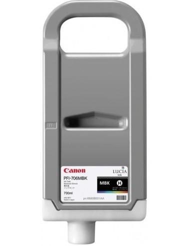 Negro Mate 700 ml. Tinta Canon PFI706MBK