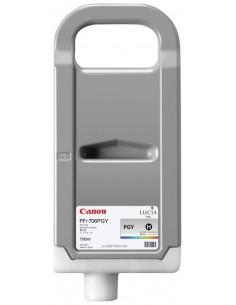 Gris claro 700 ml. Tinta Canon PFI706PGY