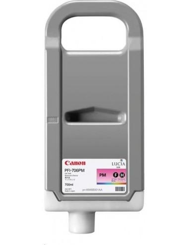 Magenta claro 700 ml. Tinta Canon PFI706PM