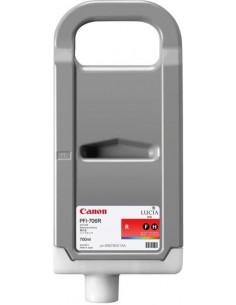 Rojo 700 ml. Tinta Canon PFI706R
