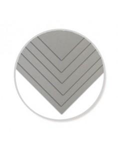 Carton mousse, gris