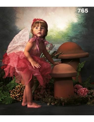 Costume de fée rose ref. 765