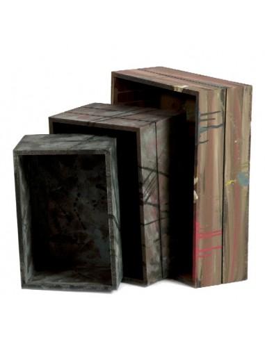 Set tres cajas ref. 1014