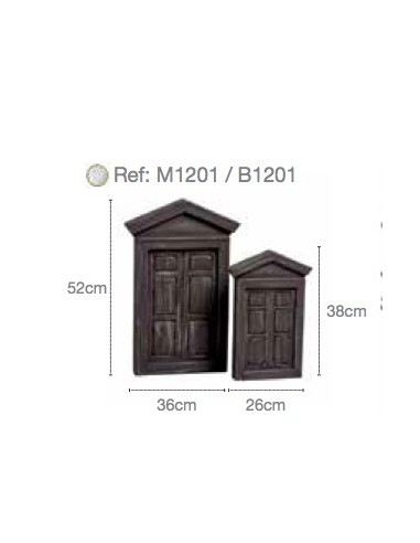 SET TWO DOORS M1201