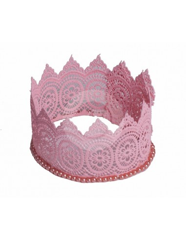 couronne rose DF082