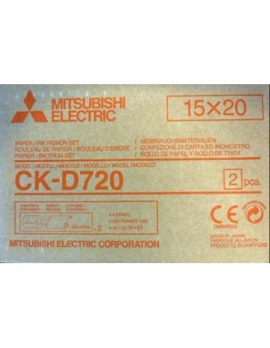 Mitsubishi papel fotografico CKD720