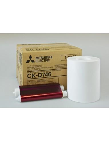 CK9015 Mitsubishi papel fotografico 10X15cm