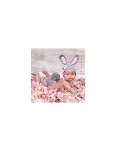 Cubrepanal y gorro conejo df101