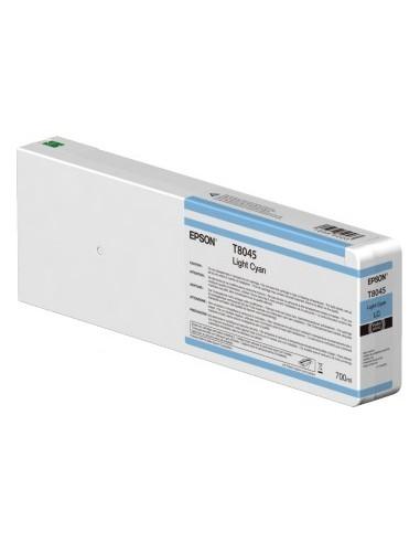 Cyan pour Epson T804500 700ml SureColor P6000 / P7000 / P8000 / P9000
