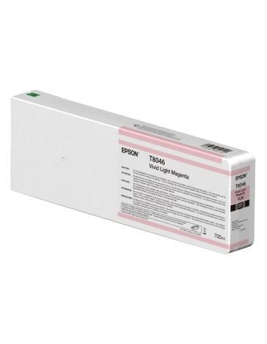 Vivid Magenta Clair T804600 UltraChrome HDX / 700ml pour Epson SureColor HD P6000 / P7000 / P8000 / P9000
