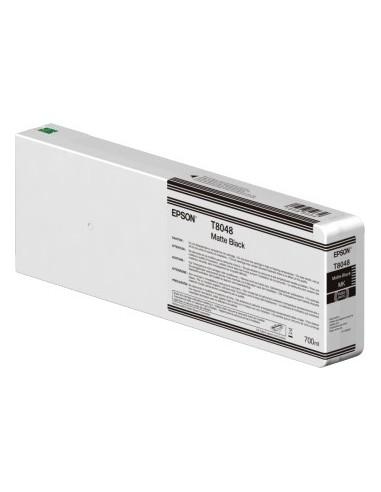 Encre d'origine Epson T804800 Matte Black UltraChrome HDX 700ml / HD pour Epson P6000 / P7000 / P8000 / P9000