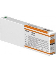Orange T804A00 encre originale 700ml Epson UltraChrome HDX  P7000 / P9000