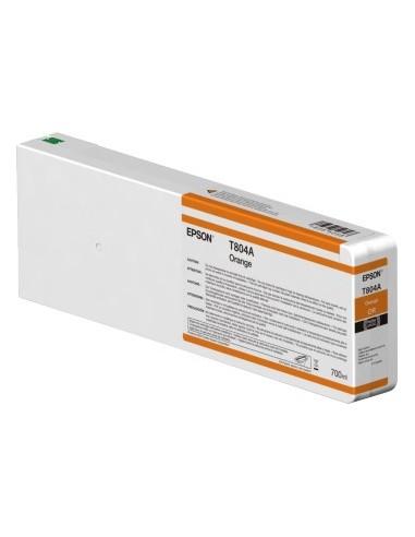 Orange T804A00 encre originale 700ml Epson UltraChrome HDX P7000 / P9000