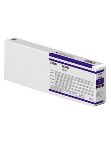 Original Ink Violet T804D00 Epson UltraChrome HDX 700ml pour P7000 / P9000