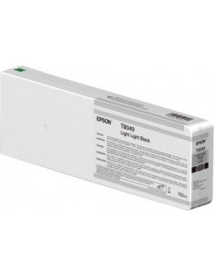 Original Tinten Epson T804900 Light Light Black Ultrachrome HDX / HD 700ml für Epson P6000 / P7000 / P8000 / P9000