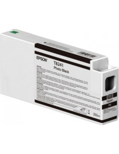 Encre d'origine Epson T824100 UltraChrome Photo Black HDX 350ml / HD pour Epson P6000 / P7000 / P8000 / P9000