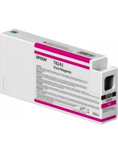 Tinta Epson Vivid Magenta T824300 UltraChrome HDX/HD 350ml para Epson P6000 / P7000 / P8000 / P9000