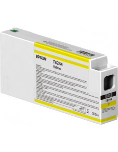 Original Yellow T824400 UltraChrome ink HDX / HD 350ml for Epson P6000 / P7000 / P8000 / P9000