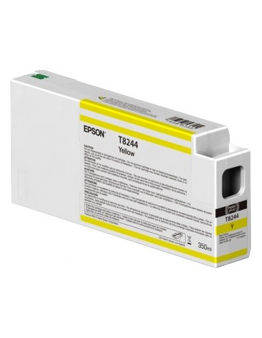 Encre jaune T824400 UltraChrome originale 350ml HDX / HD pour Epson P6000 / P7000 / P8000 / P9000