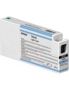 Original Tinten Epson T824500 Light Cyan Ultrachrome HDX / 350ml für Surecolor HD P6000 / P7000 / P8000 / P9000
