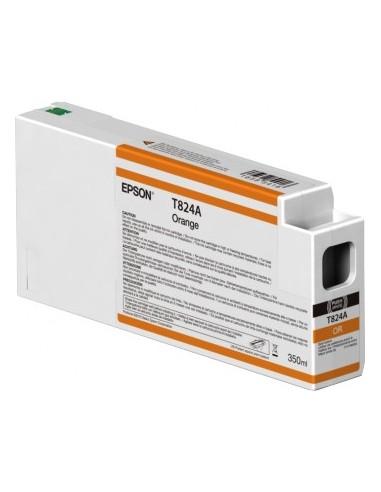 Encre d'origine Epson UltraChrome HDX T824A00 orange 350ml P7000 / P9000