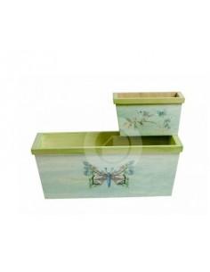 Emballez Deux flowerpots ref. 1176