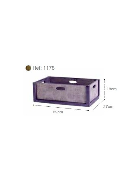 Wooden box ref. 1177