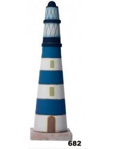 Faro Grande azul ref. 682