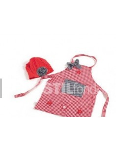 Apron and hat 847M