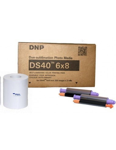 DNP 2UPC-C14 10x15 400 fotos