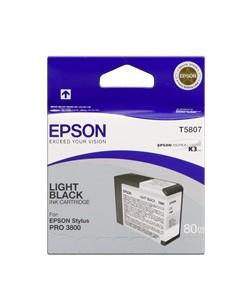 Cartucho Epson 3880 T580700 gris