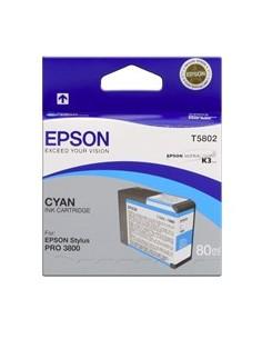 Cartucho Epson 3880 T580200 cian