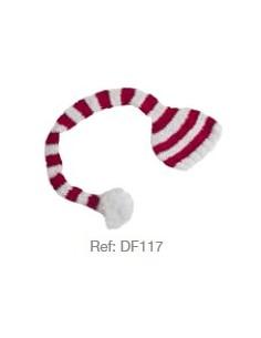 Gorro rayas navidad DF117