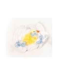 Cubrepañales DF042 azul