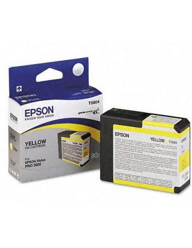 Cartouche Epson T580400 jaune