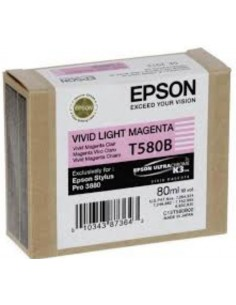 Cartucho Epson T580B00 magenta claro vivo