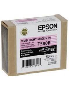 Epson cartridge magenta live T580B00
