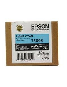 Cartucho Epson 3880 T580500 cian claro