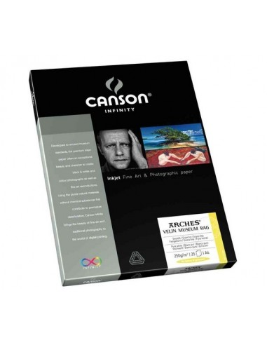 Canson Infinity Arches Velin 250g Caja A4 25 hojas