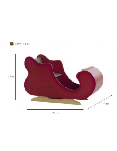 RED SLED REF. 1123