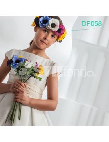 turbante flores multicolor Df058
