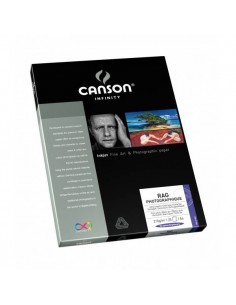 Canson Infinity Rag Foto 210g Caja A4 25 hojas