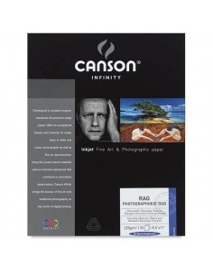 Canson Infinity Rag Foto Duo 220g Caja A4 25 hojas