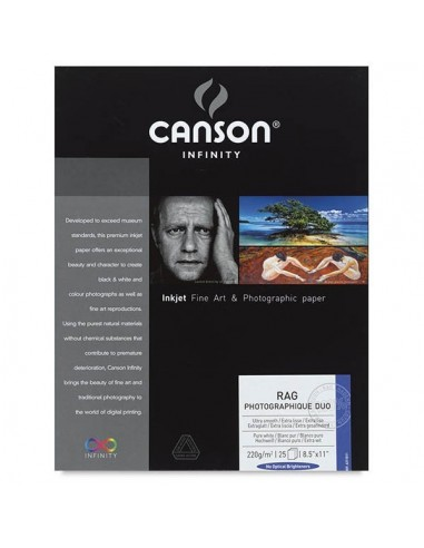 Canson Infinity Rag Foto Duo 220g